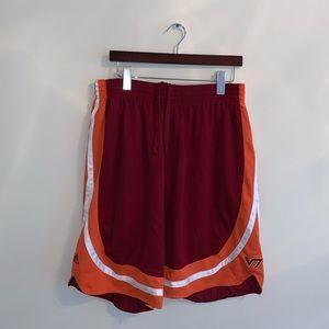 Adidas Virginia Tech Athletic shorts size XL